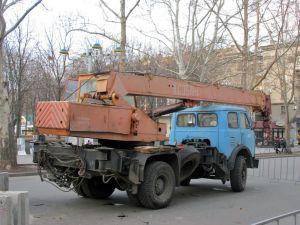 МАЗ-5334 вид сзади
