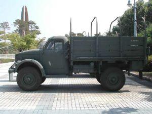 Вид сбоку ГАЗ-63