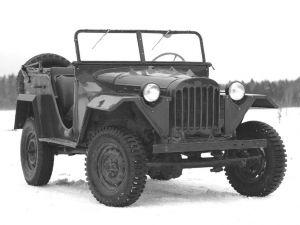 Вид спереди ГАЗ-67