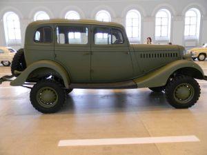 ГАЗ-61 вид сбоку