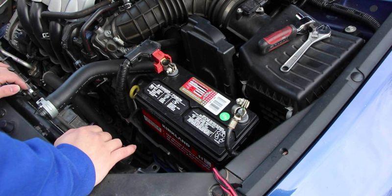 Как долго необходимо заряжать аккумуляторную батарею машины?