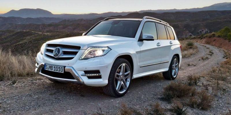 Автомобиль Mercedes-Benz GLK