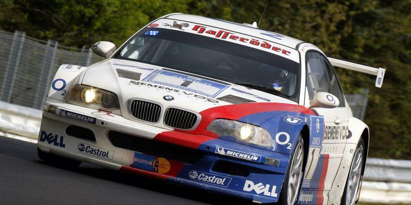 Автомобиль BMW M3 GTR