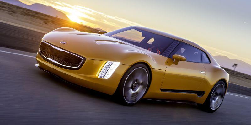 Спорткар Kia GT4 Stinger ждем к 2020 году
