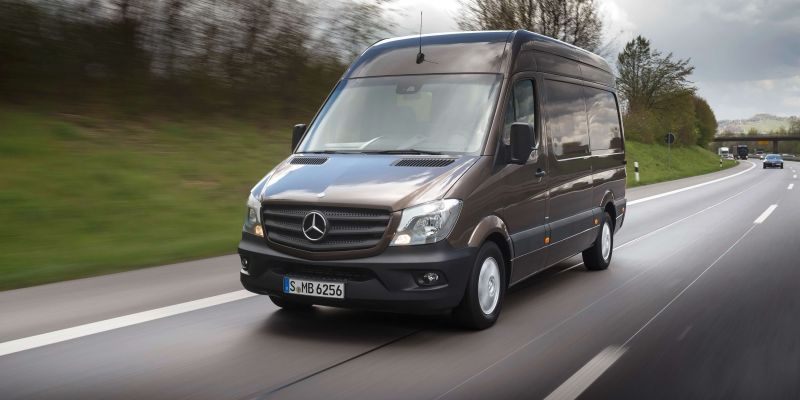 История и обзор Mercedes-Benz Sprinter