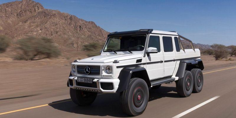 Внедорожник Mercedes-Benz G63 AMG 6×6