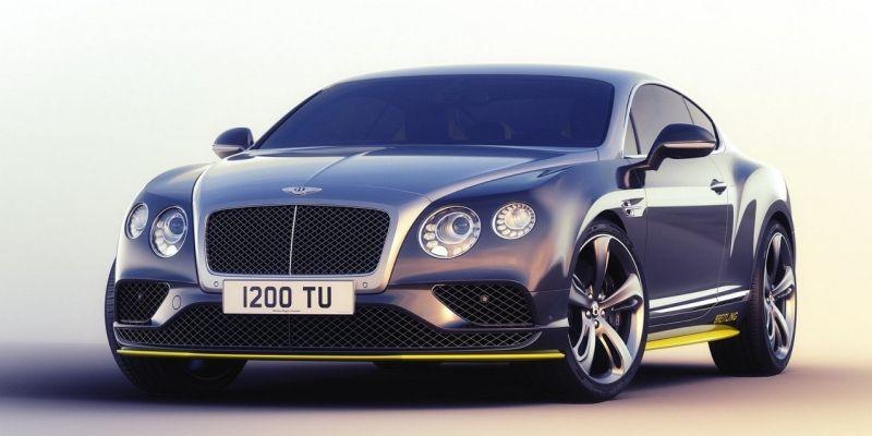 «Летающий» автомобиль Bentley Continental GT