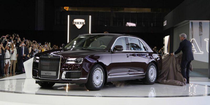 Лимузины Aurus решили производить в Объединенных Арабских Эмиратах