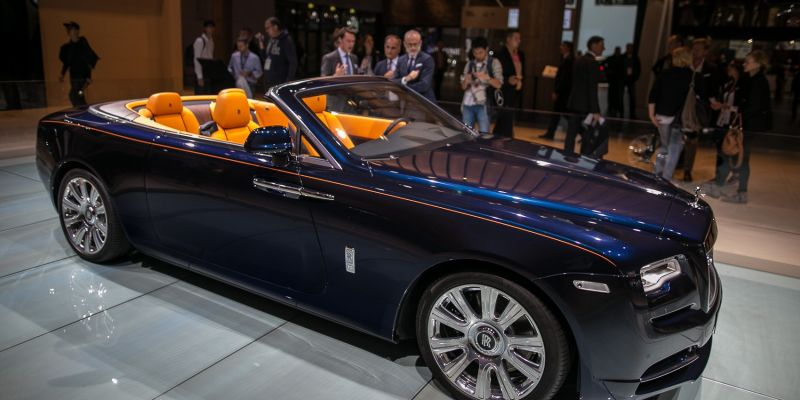 Компания Rolls-Royce продемонстрировала всем Dawn