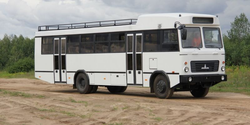«Самый необычный автобус среди всех выпускаемых» решили подарить Сирии