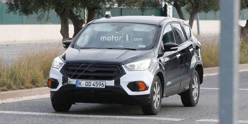 Тайное становится явным, первые фото Ford Kuga 2020