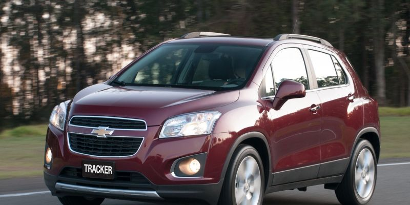 Автомобиль Chevrolet Tracker