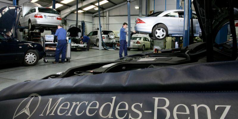 Сервисный центр Mercedes – от диагностики до кузовного ремонта