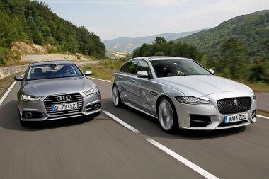 Jaguar XF или Audi A6