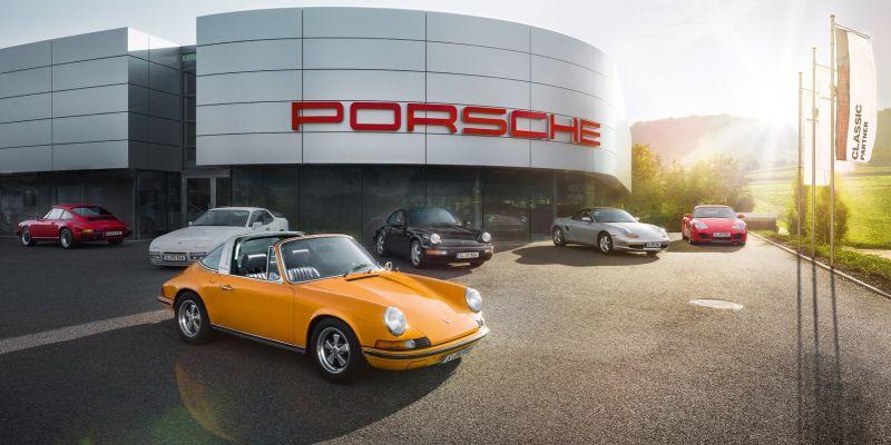Porsche берет «старье» на вооружение