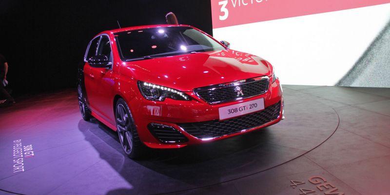 Peugeot 308 – теперь выпускается с 270-сильным двигателем