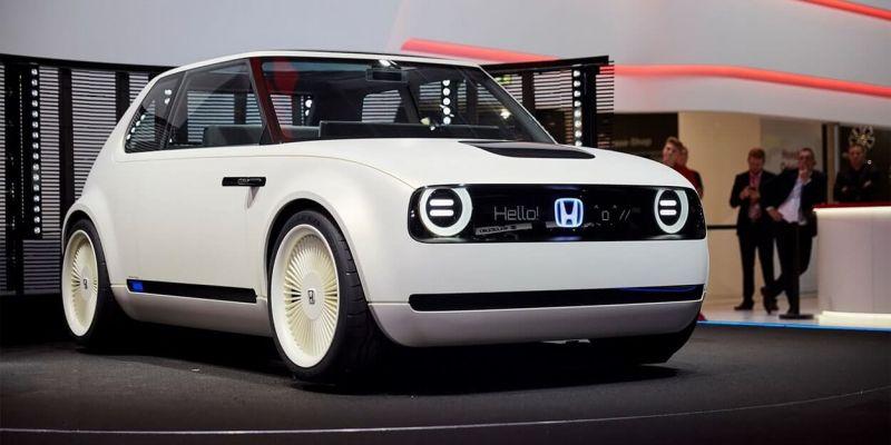 Волшебный электро хэтчбек Honda готовится к презентации