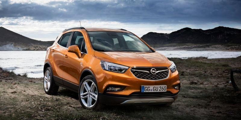Обновленный Opel Mokka обзавелся буквой X