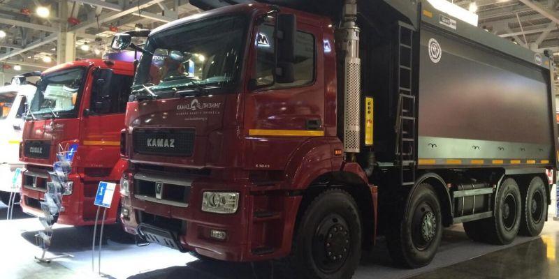 «КАМАЗ» показал новейшие автомобили для строительного рынка