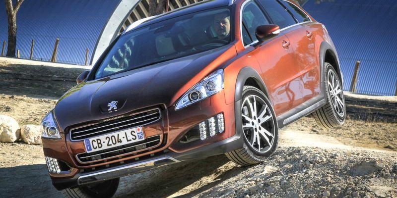 Завершение гибрида электро-дизеля Peugeot 508 RXH
