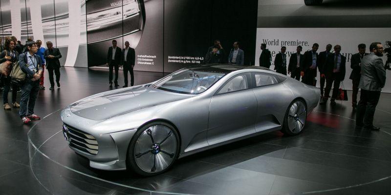 Концепт автомобильной компании Mercedes IAA выглядит как настоящий ковер-самолет