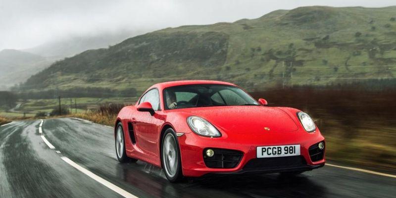 Автомобиль Porsche Cayman
