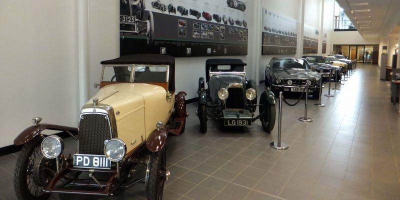 История компании Aston Martin
