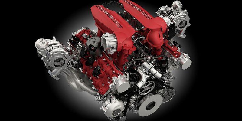 V8 Ferrari признан лучшим двигателем года