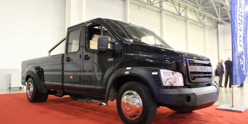Новенький пикап фирмы «ГАЗ» — его характеристики на автовыставке