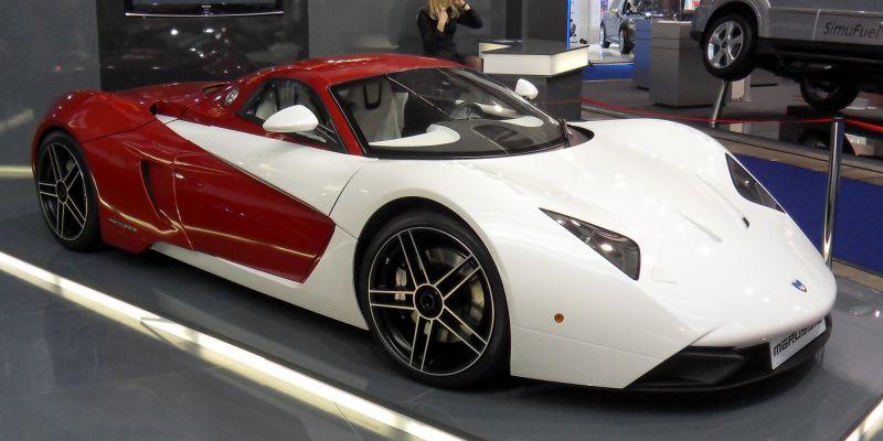 История компании Marussia Motors