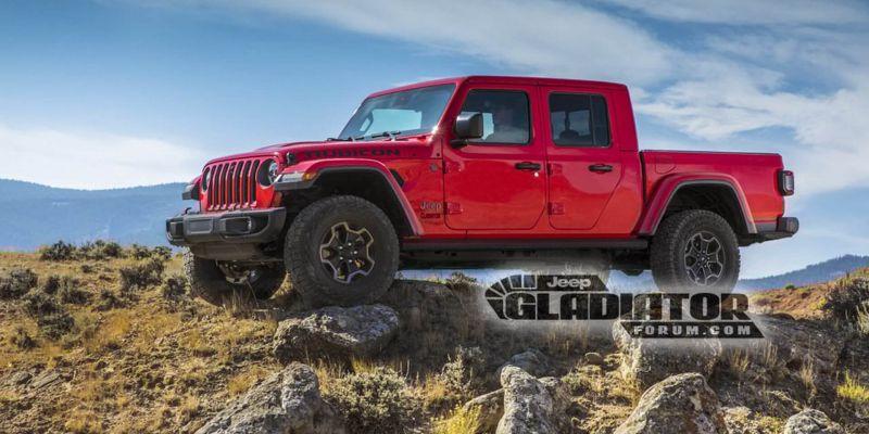 Каким будет новый Jeep Gladiator?