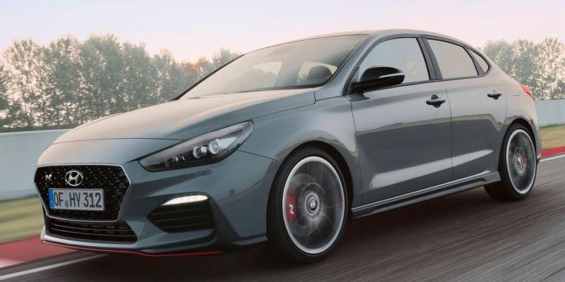 Представлена спортивная модификация Hyundai i30 fastback
