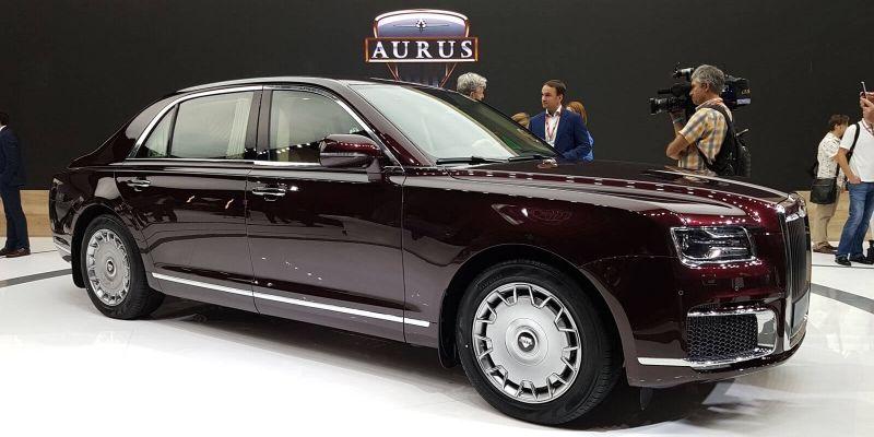 Кучеряво живем: русские лимузины Aurus Senat разобрали на 2 года вперёд