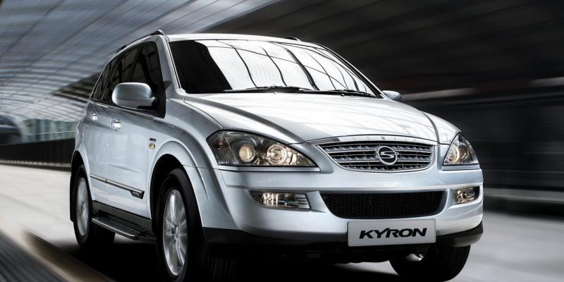 Автомобиль SsangYong Kyron 2