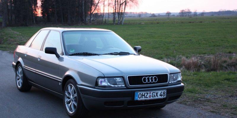История Audi 80