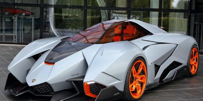 Автомобиль Lamborghini Egoista