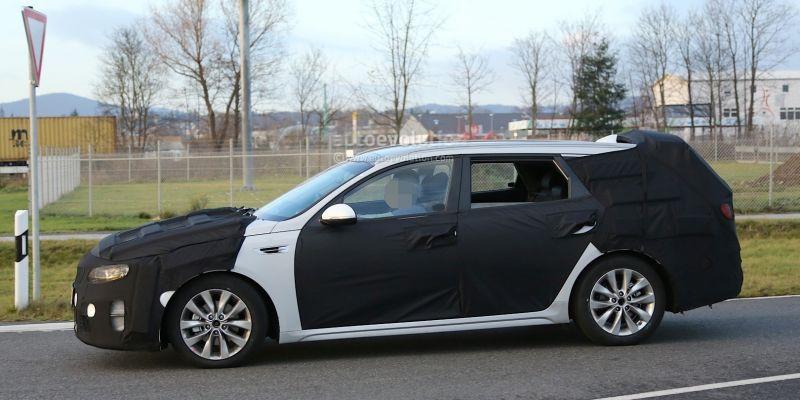 Снимки нового Kia Optima: папарацци не дремлют!