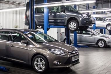 Ремонт автомобилей Ford всех моделей