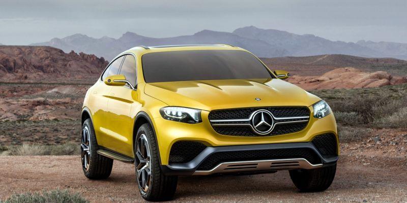 GLC Coupe от компании Mercedes