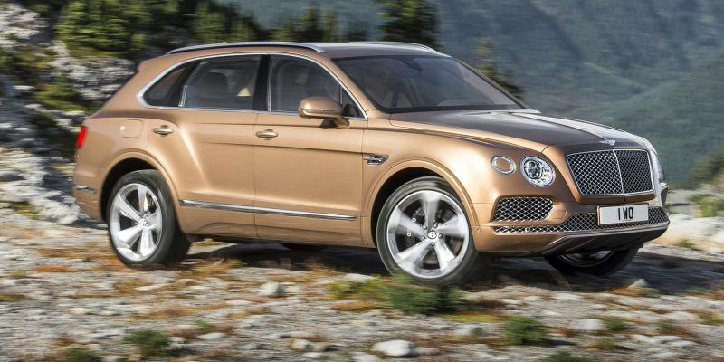 Bentley готовит конкурента BMW X6