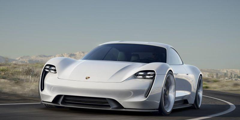Наиболее продвинутый Porsche Mission E