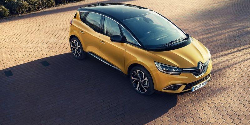 Renault Scenic 2016 получил 20-дюймовые колеса