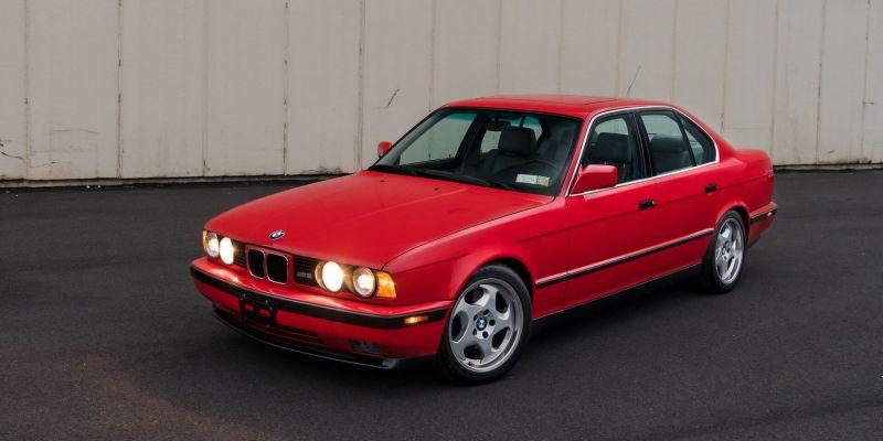 Есть желающие заплатить 55 000 долларов за ухоженную версию BMW M5 1991 года?