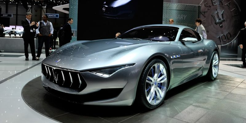 Принято решение оставить Maserati Alfieri в серийном производстве