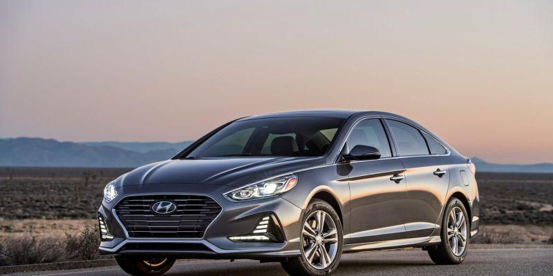 Порция шпионских фото Hyundai Sonata