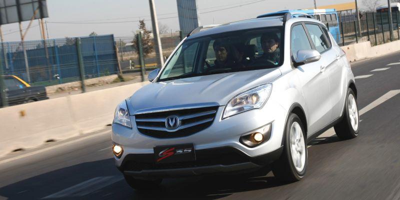 Автомобиль Changan CS35