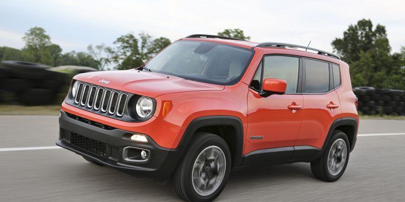 Такой компактный Jeep Renegade