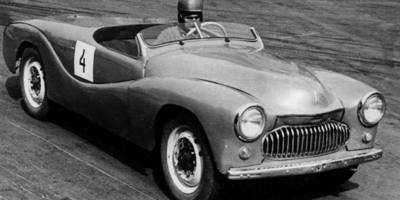 Москвич – автомобили гоночного типа