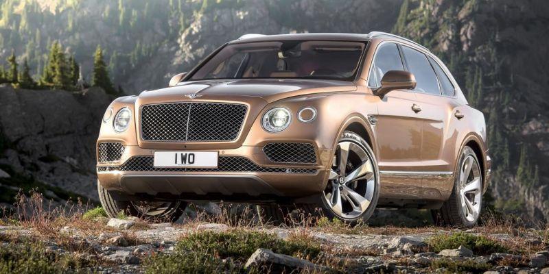 Непревзойденный Bentley Bentayga