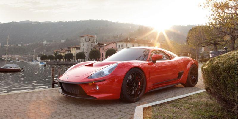 Итальянский суперкар 2500 GT от ATS